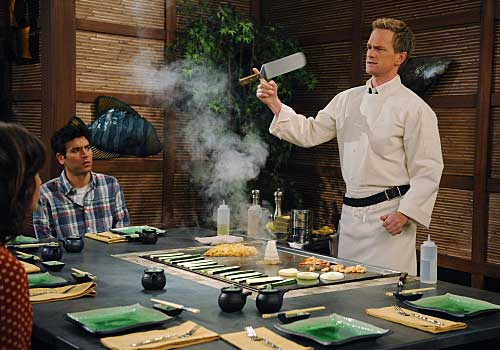 how i met your mother teppanyaki
