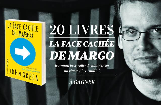 Concours — 20 exemplaires de «La face cachée de Margo» à gagner !