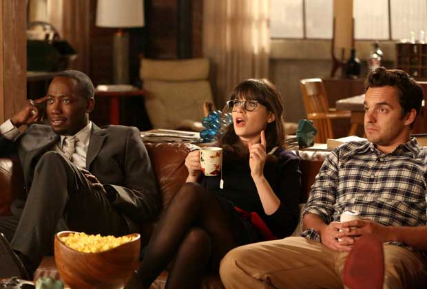 new girl tele foot