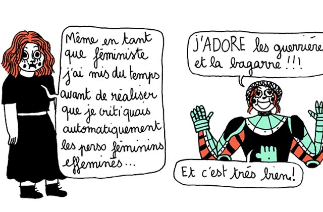 Le problème des personnages féminins forts, vu par Mirion Malle