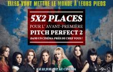 Concours — 5×2 places à gagner pour l'avant-première «Pitch Perfect2» la plus proche de chez vous!