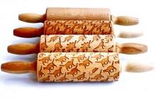 Les rouleaux à pâtisseries gravés, pour des pâtes joliment décorées