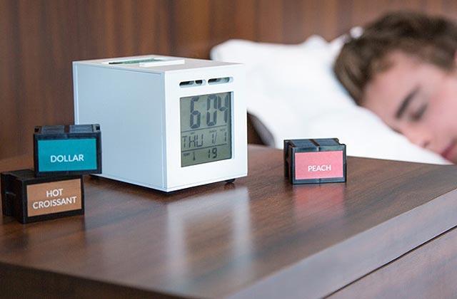 SensorWake, le réveil qui parfume tes matins