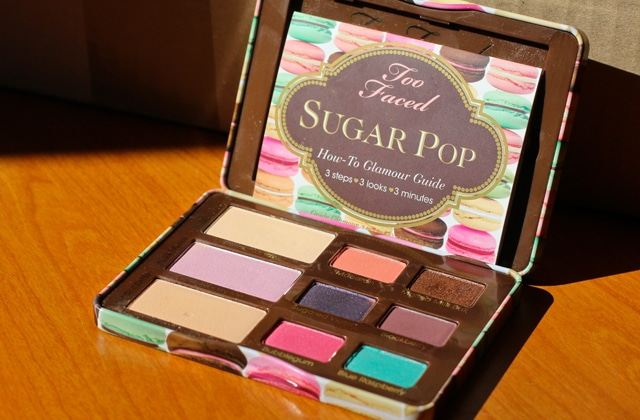 La palette Sugar Pop de Too Faced — Le test #PaletteWeek