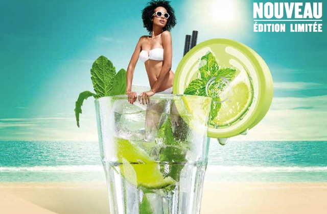Virgin Mojito, la nouvelle gamme pour le corps de The Body Shop