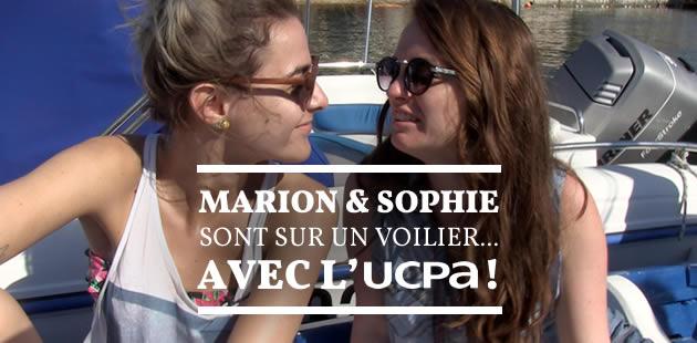 Marion & Sophie sont sur un voilier… avec l'UCPA !