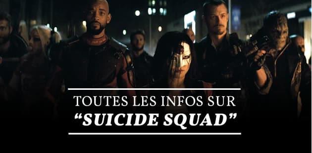 « Suicide Squad » a sa bande-annonce!