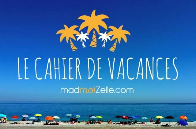 Le Cahier de Vacances madmoiZelle édition 2015