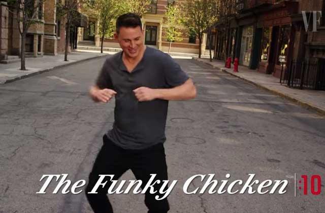 Channing Tatum danse le robot, le poulet et le twist en 30 secondes