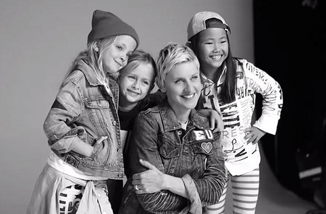 La collection d'Ellen DeGeneres pour Gap Kids sort aujourd'hui!
