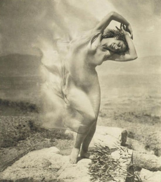 Edward J. Steichen Wind Fire Therese Duncan