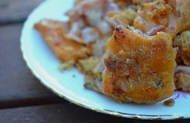 recette gnocchis patate douce oignons frits bacon