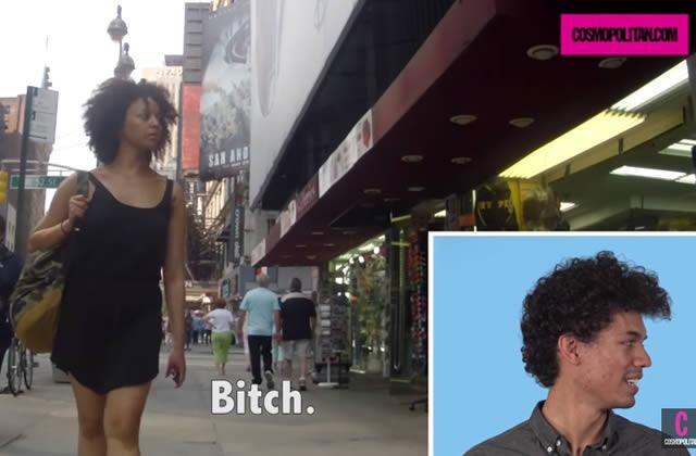 Des hommes réagissent aux images de leurs copines harcelées