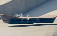 La démo de l'Hoverboard de Lexus en lévitation dans un skatepark !