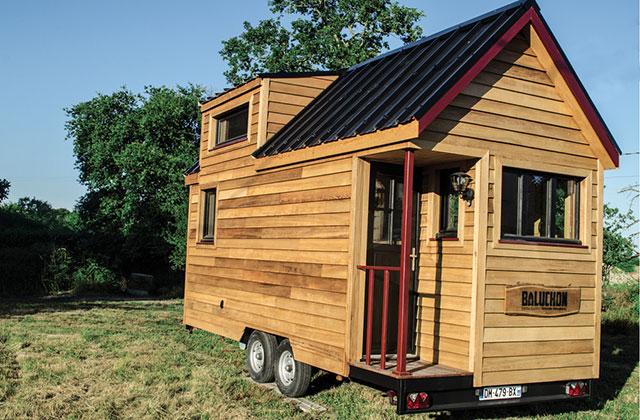 Le projet Baluchon, la belle aventure «tiny house» de Laëtitia