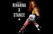 Rihanna crée une collection de chaussettes pour la marque Stance