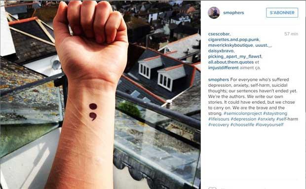 semicolon-project-tatouage