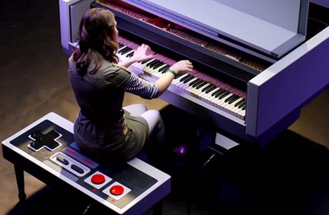 Une musicienne rejoue les thèmes de Super Mario au piano