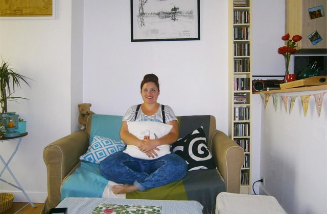 Dans l'appart' de… Julie, prof de français au Havre