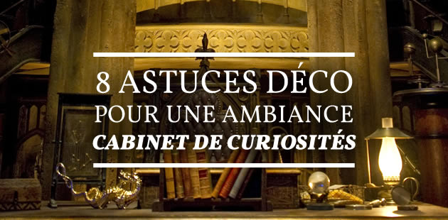 Tendance d co for Meuble cabinet de curiosite