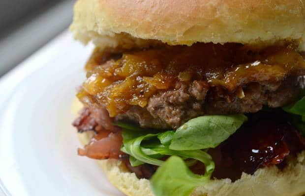 burger mangue bacon