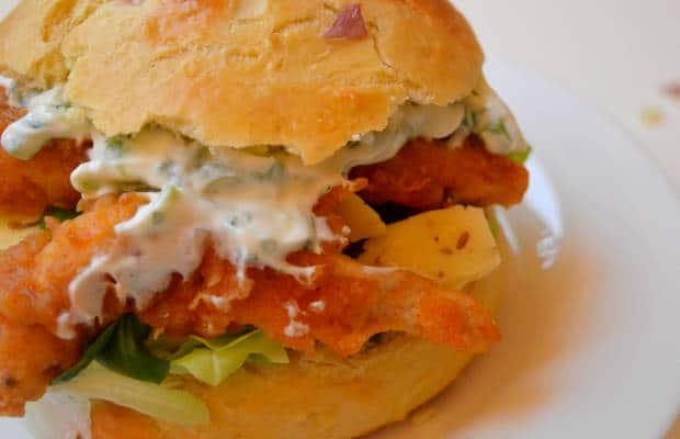 burger poulet croustillant 2
