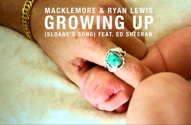 Ed Sheeran s'associe à Macklemore & Ryan Lewis sur «Growing Up», un nouveau titre à télécharger!