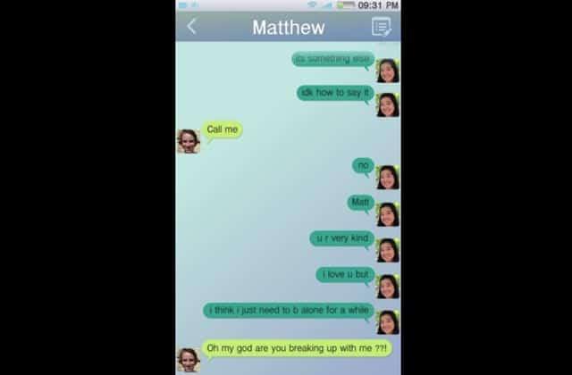 «How Can It Be», le clip qui reproduit une rupture par SMS