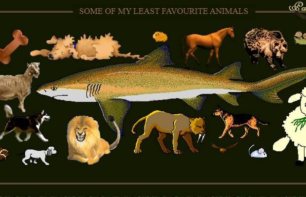 least favorite animals