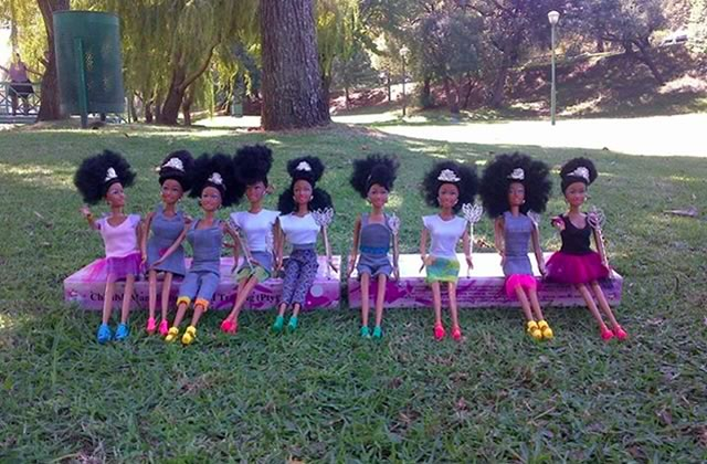 Les poupées sud-africaines Momppy Mpoppy célèbrent la beauté des femmes noires