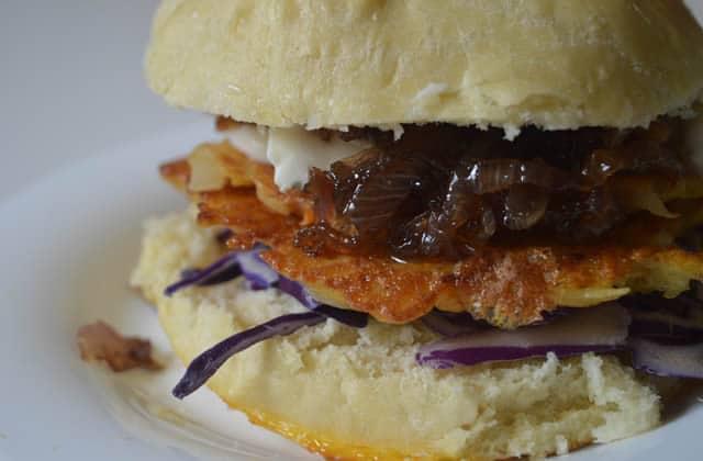 Le burger végétarien aux galettes de pommes de terre — Recette indécente #BurgerWeek