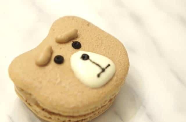 Les macarons à l'effigie de Ted l'ourson vivant — La recette en vidéo
