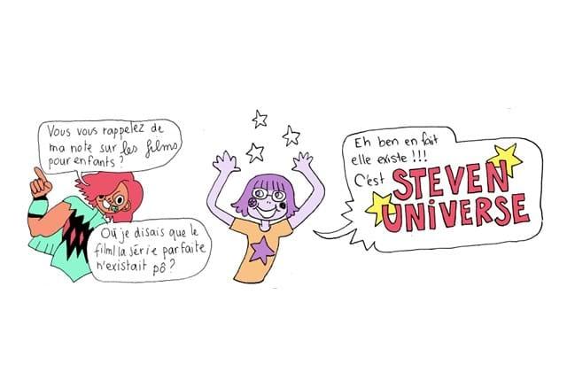« Steven Universe», une série animée de qualité présentée par Mirion Malle & Sophie Bédard!