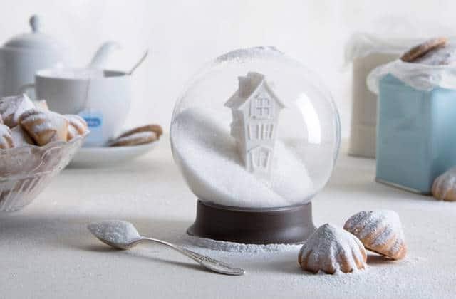 Le sucrier boule à neige, l'accessoire mignon de la pause café