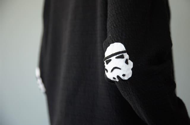 DIY — Les coudières Star Wars en feutrine