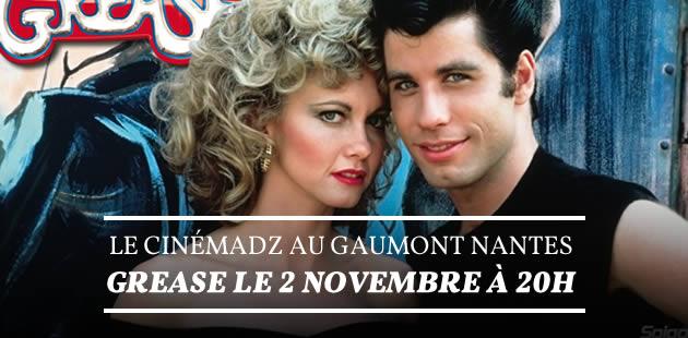 Le CinémadZ pose ses valises à Nantes avec «Grease»