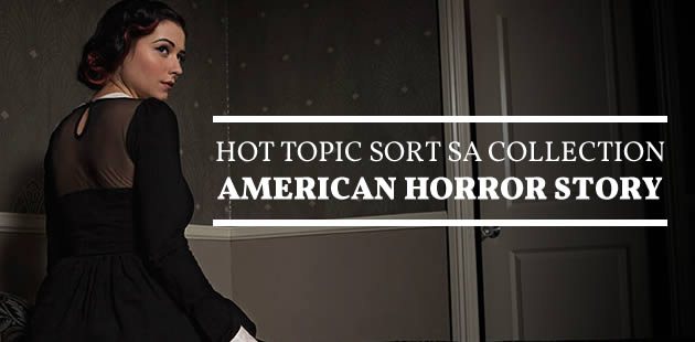 Hot Topic sort sa collection American Horror Story