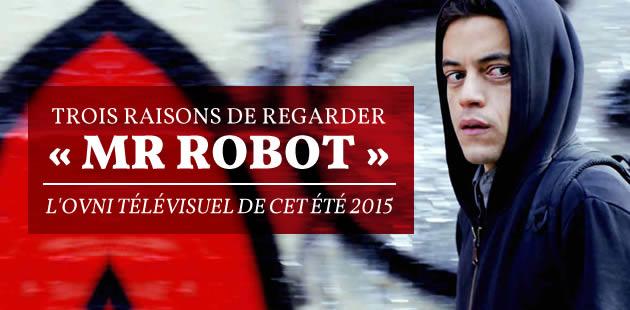 «Mr Robot», l'OVNI télévisuel de l'été 2015, débarque sur France 2!
