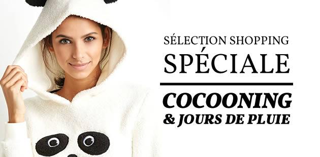 Sélection shopping spéciale cocooning & jours de pluie