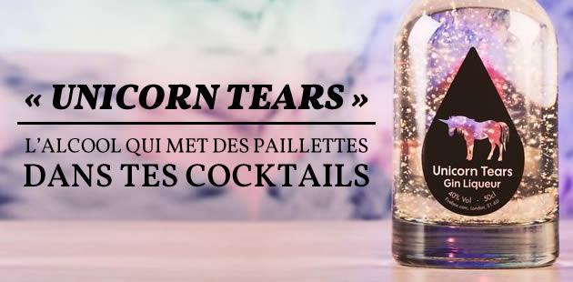 «Unicorn Tears», l'alcool qui met des paillettes dans tes cocktails