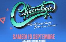 5×2 places à gagner pour la Chronologic du samedi 19 septembre !