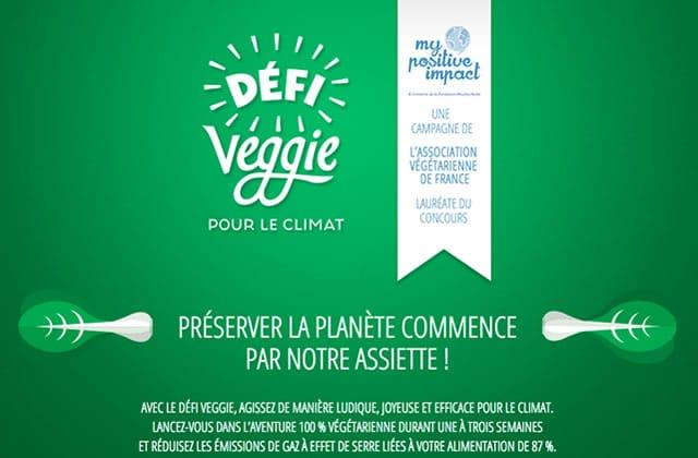 Le Défi Veggie, une semaine 100% végé pour le climat, revient du 4 au 24 juin!