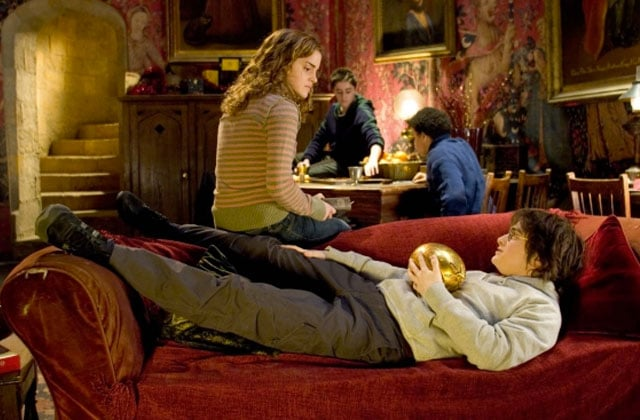 Get the Déco — La salle commune de Gryffondor, dans Harry Potter