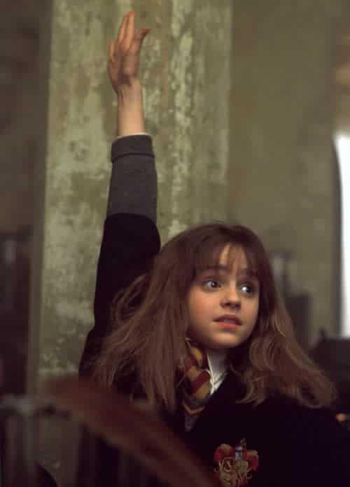 hermione-granger-raising-hand