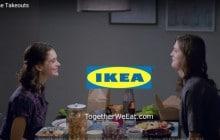 IKEA met en scène un couple de femmes dans sa nouvelle pub