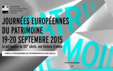 Les Journées du Patrimoine 2015, le 19 et 20 septembre à travers l'Europe