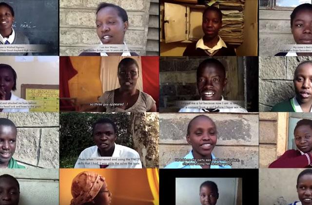 Au Kenya, «No Means No» apprend le consentement aux garçons et aux filles