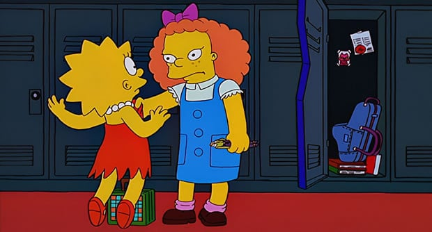 lisa-simpson-bully