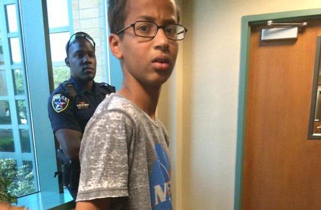 Ahmed, lycéen américain placé en garde à vue pour… avoir fabriqué une horloge