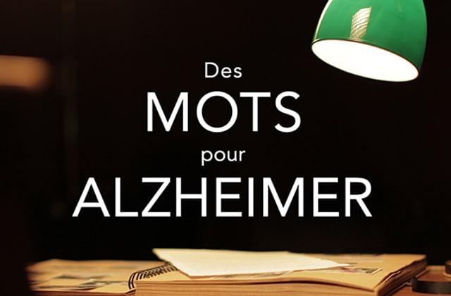 «Des mots pour Alzheimer», une campagne pour sensibiliser à la maladie